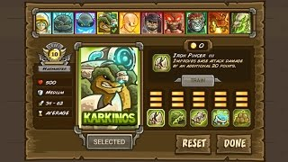 Kingdom Rush Frontiers Karkinos