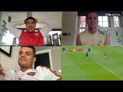 UNMISSABLE! Bellerin, Xhaka \u0026 Holding | 2017 Emirates FA Cup final watchalong