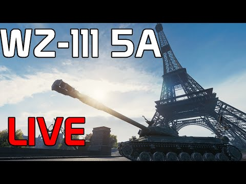 Marking The WZ-111 Model 5A (LIVE Gameplay)