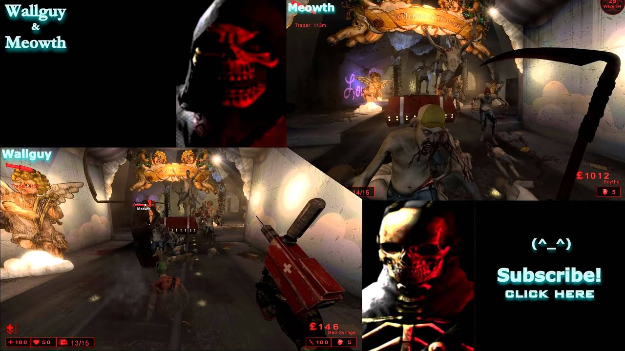 Killing floor wallguy meowth split screen stay blood for Floor 2 swordburst 2