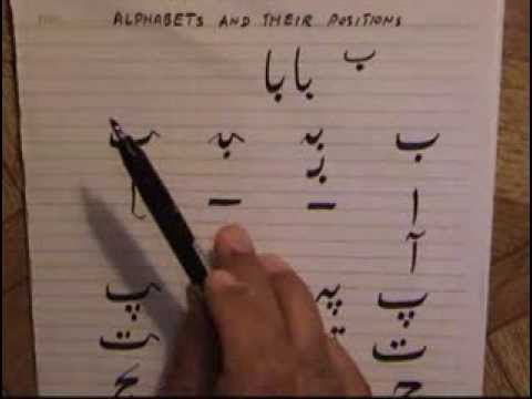 Lesson-3 ( Urdu alphabets and their positions-1)