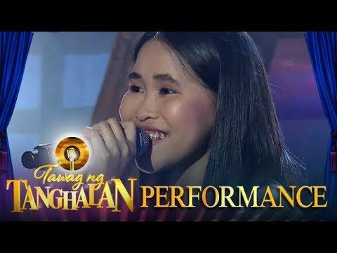 Angelica Artigo   Kahit Ayaw Mo Na   Tawag ng Tanghalan