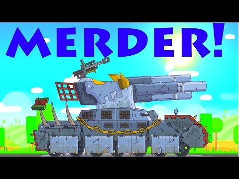 Super Tank Rumble Creations - Merder - Big Monster Boss!