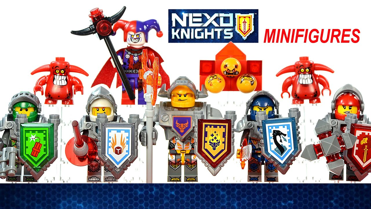 ultimate clay mixed Lego nexo chevaliers 70330