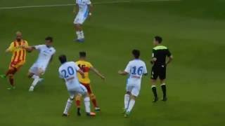 Benevento Catania 2016 1-0   Gol di Campagnacci all'81°