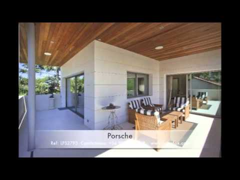 Casa de lujo con jardn piscina y garaje Exquisito