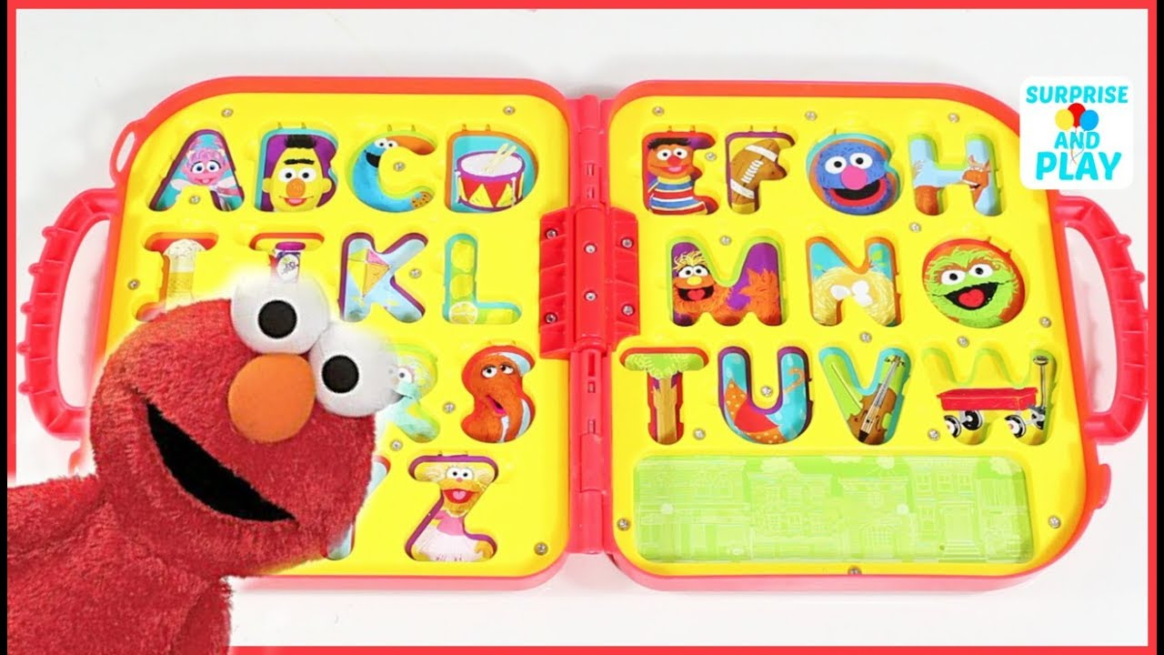 Learn Letters With Sesame Street Elmo S On The Go Letters