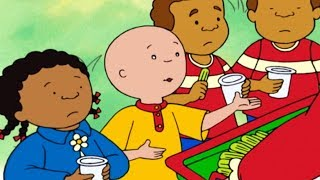 Caillou and the Healthy Snacks | Caillou Cartoon