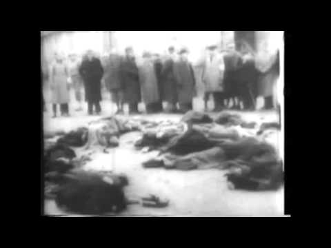 Reel 2 1945 Nazi Concentration Camp Documentary video footage