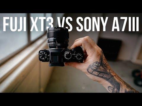 Fuji XT3 vs Sony A7III - Real World Test - 23mm vs 35mm + RAW Downloads