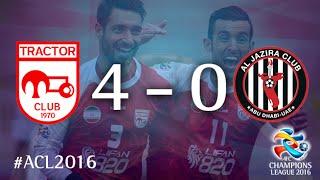 TRACTORSAZI TABRIZ vs AL JAZIRA: AFC Champions League 2016 (Group Stage)