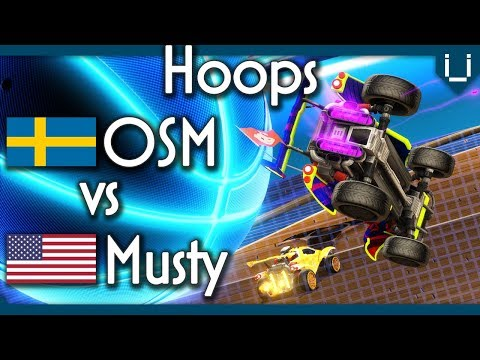 OSM vs Musty | Hoops 1v1 in Rocket League thumbnail