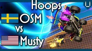 OSM vs Musty | Hoops 1v1 in Rocket League