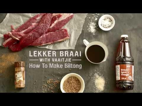 How To Make Biltong