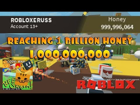 GOT 1 BILLION HONEY!!!! - Roblox Bee Swarm Simulator