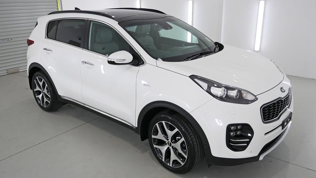 Kia Sportage Gt Snow White Pearl Auto K226504