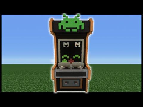 Minecraft Tutorial: How To Make An Arcade Machine House