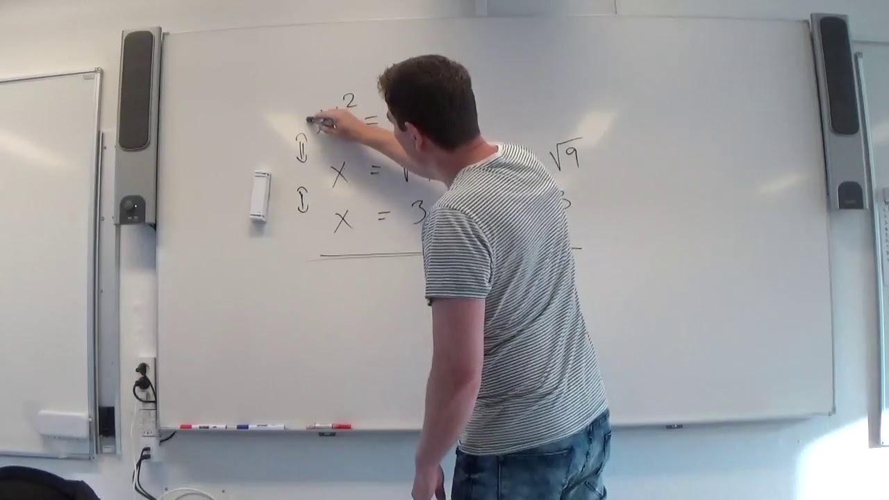 Mat C 8.4b Ligninger med potens regneeksempler