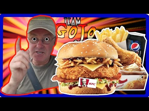 KFC Kentucky Burger / Sandwich Box Meal (Fill Ups) Food Review