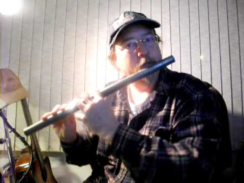 """Demo of my """"Super Flute"""" built from a metal pipe"""