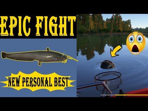 New Personal Record - Huge Fish Vs Narga [Russian Fishing 4]
