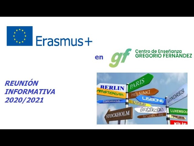 Reunión Informativa Erasmus+ 20-21