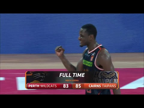 Perth Wildcats vs. Cairns Taipans - Game Highlights