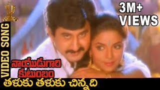 Download Video Taluku Thaluku Chinnadi Taja Video Song | Naidugari kutumbam Telugu Movie | Suman | Ravali MP3 3GP MP4