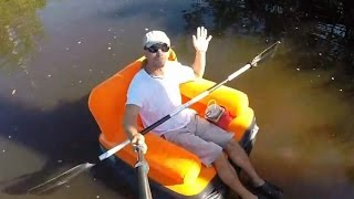 Inflatable Chair Fishing?