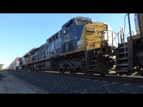 Trains Along the Union Pacific Sunset Route | UP, CSX Power, and MORE