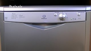 indesit idf125 dishwasher review demonstration