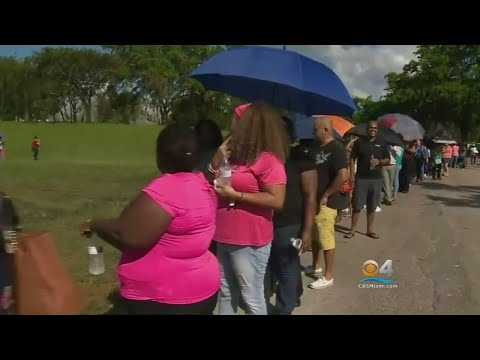 Hurricane Food Assistance This Week In Dade, Broward