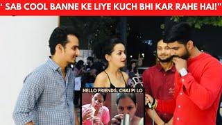 Hello Friends Chai pi lo Public Reaction   Public hai ye Sab Janti hai   JM JEHERANIUM