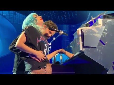 Lady Gaga Bradley Cooper - Shallow - Enigma Concert in Las Vegas