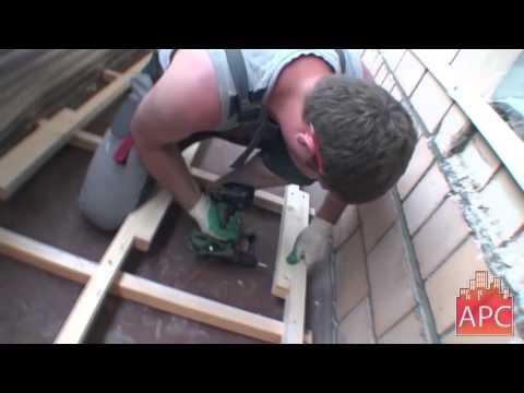 Технология комплексного ремонта шестиметрового балкона П-29 под ключ