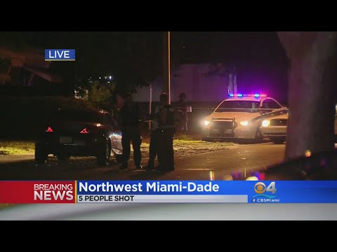 Teenage Boy, Four Others Shot In Northwest Miami-Dade