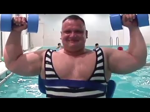 Massive Strongman in a Singlet - Real Thick TV