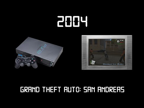 Gaming Through The Ages Phase 1 - 2004 - Grand Theft Auto: San Andreas - Playstation 2