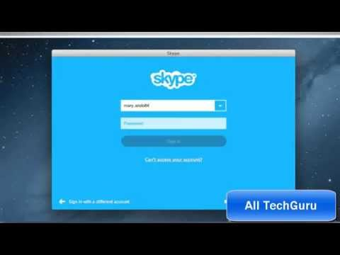 HOW TO Download And Install Skype For Mac- OS