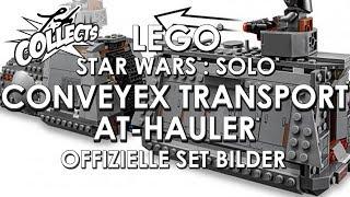 LEGO Star Wars SOLO 2018 - Conveyex Transport Train 75217 und AT Hauler 75219 - Yarghs Senf