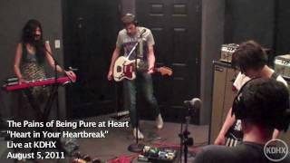 "The Pains of Being Pure at Heart ""Heart In Your Heartbreak"" Live at KDHX 8/5/11 (HD)"