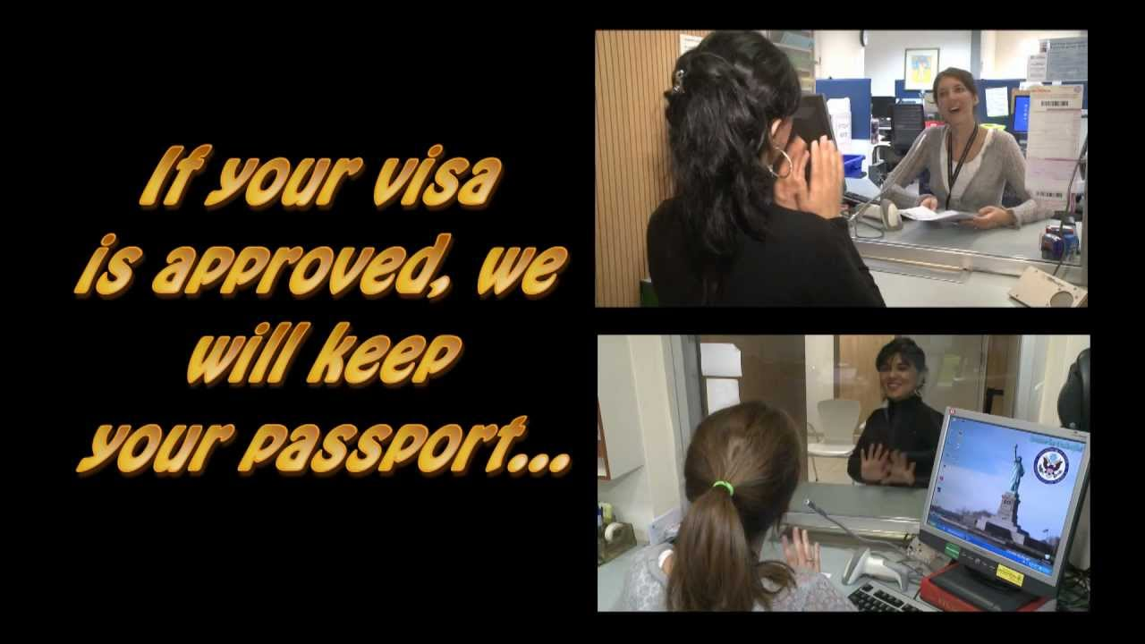 U S Embassy Presents Get Through The Visa Line Faster