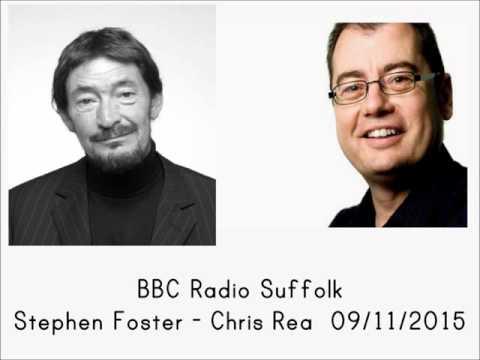 BBC Radio Suffolk - Stephen Foster, 09/11/2015