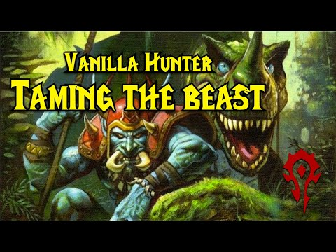 Wow Vanilla Hunter Quest Taming The Beast Horde Youtube