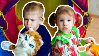 Kids Pretend Play with New Toys. Best Video for Children