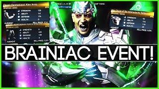 "Injustice 2 - Brainiac Multiverse Event ""TAKING OVER"" (EPIC Brainiac Gear!)"