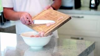 Kurczak z grzybami mun - Kuchnia Golden Drop (Przepisy Kulinarne)
