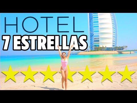 ASÍ ES EL ÚNICO HOTEL 7 ESTRELLAS DEL MUNDO – GRABÉ TODO | Mariale