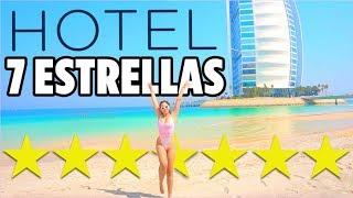 ASÍ ES EL ÚNICO HOTEL 7 ESTRELLAS DEL MUNDO - GRABÉ TODO | Mariale