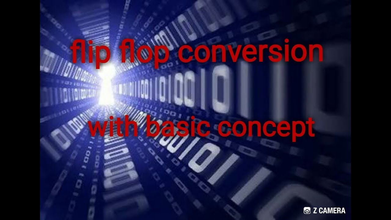 6b09ddfb5 Basic of Flip flop conversion   D to T flip flop conversion with easy way    computer arithmetic